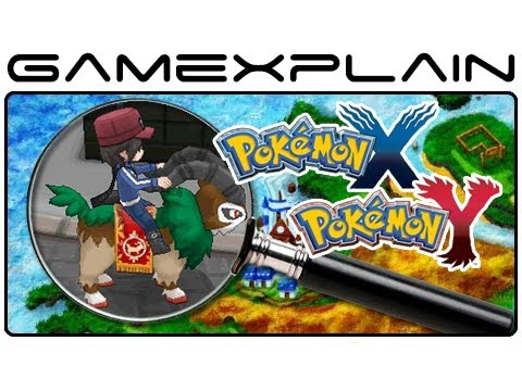 Pokemon X & Pokemon Y - Trailer & Map Analysis (Secrets & Hidden Details), http://www.GameXplain.com Join us as we uncover the secrets of the latest gameplay trailer, screenshots, and the world map for Pokémon X & Pokémon Y!