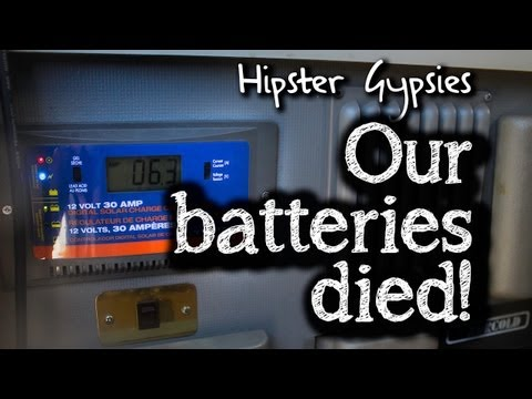 Hipster Gypsie - Our batteries died!