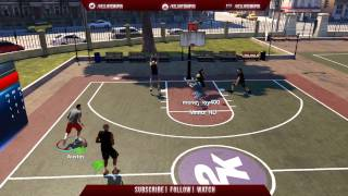 NBA 2K14 PS4 Park| Story Time I Let My Girlfriend Get