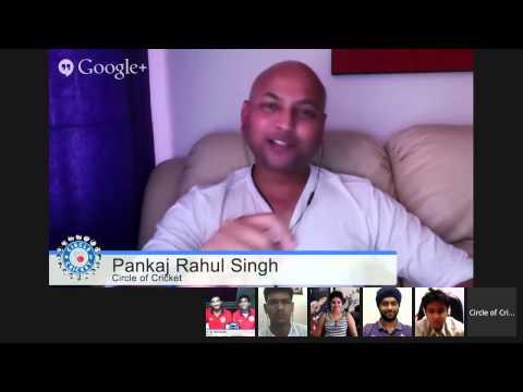 #KXIPHangout with Rishi Dhawan & W. Saha