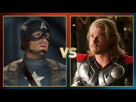 Captain America vs Thor: Fanboy Faceoff