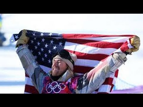 Sage Kotsenburg wins First US Gold MEDAL for US in Slopestyle Sochi Winter Olympic Games