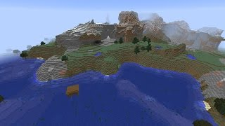 Minecraft Seed 1.8.4 Cool Swampland Spawn, Witches Hut