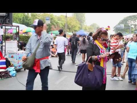 กำนันสุเทพ    Thailand Protest Song Protesters of the Bangkok Shutdown Daily Life