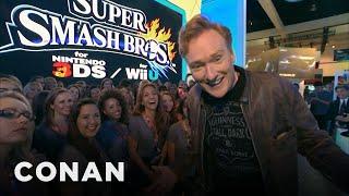 Conan Visits E3, 2014