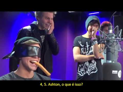 5 Seconds Of Summer play 5 Seconds of Snogging (Legendado PT- BR)
