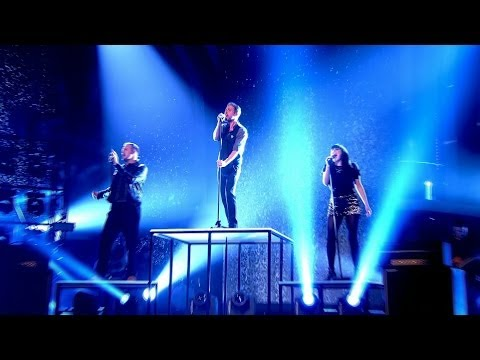 Ricky and his Team perform 'You Really Got Me' - The Voice UK 2014: The Live Semi Finals - BBC One
