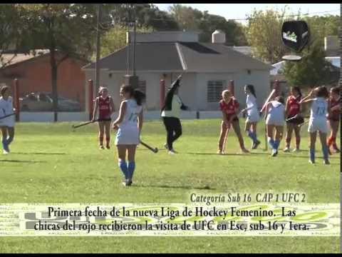 2014 04 17  Clip resumen Sub 16 Hockey Fem CAP vs UFC