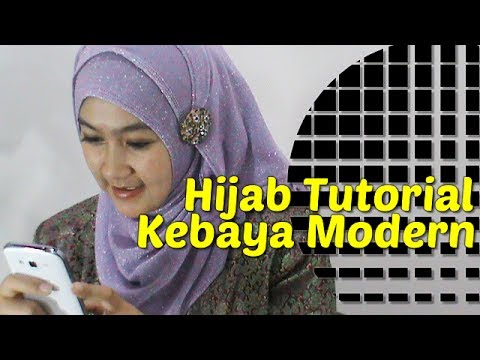 Hijab Tutorial Kebaya Modern by Anna