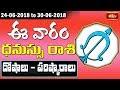 Sagitarus Weekly Horoscope By Dr Sankaramanchi Ramakrishna Sastry   24 June 2018 - 30 June 2018