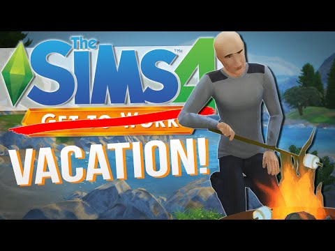 The Sims 4 | LET'S GO CAMPING!! | Get To Work / Outdoor Retreat #11