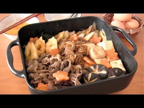 Beef Sukiyaki (Japanese Beef Hot Pot) すき焼きの作り方 - OCHIKERON ...