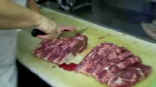 How To Cut A Whole Rib-Eye