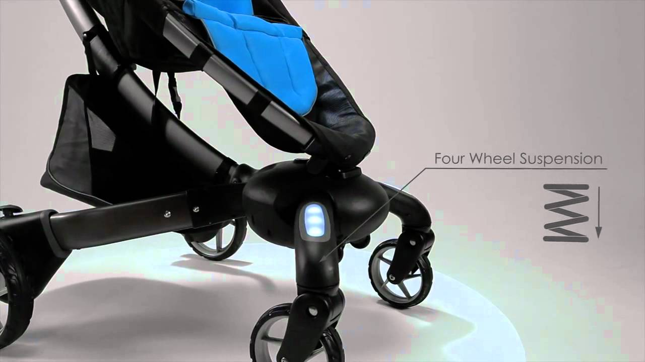 meet the 4moms origami automatic folding stroller demo
