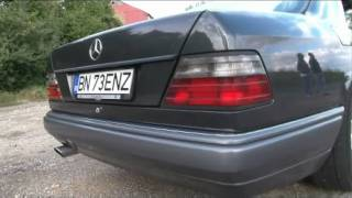 Mercedes Benz E220 Coupe Presentation