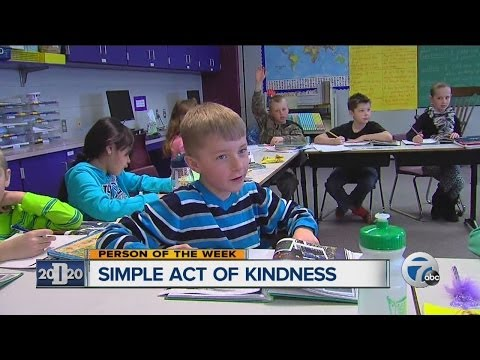 Simple act of kindness: student pays off school lunch debt