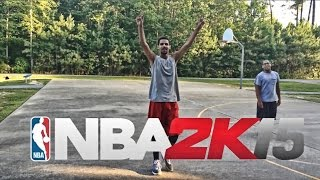 NBA 2K15 THE PARK IN REAL LIFE TO FUNNY!