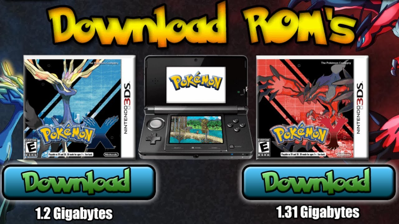 pokemon games download for free rom