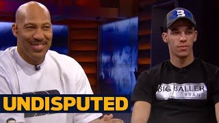 LaVar Ball, Lonzo Ball join Skip and Shannon to talk reality TV show and more | UNDISPUTED