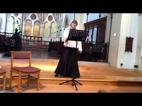 Romanze der Häüsliche Krieg(with intro) Schubert, Christine Hubbard.MOV