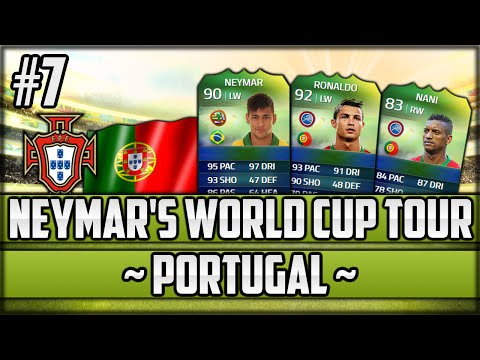 FIFA 14 Next Gen - Neymar's World Cup Tour - #7 - Portugal