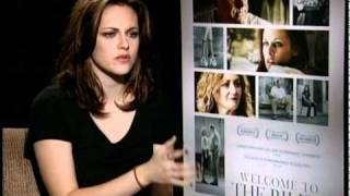 Kristen Stewart talks about playing a teen stripper in 'Welcome to the Rileys' view on youtube.com tube online.