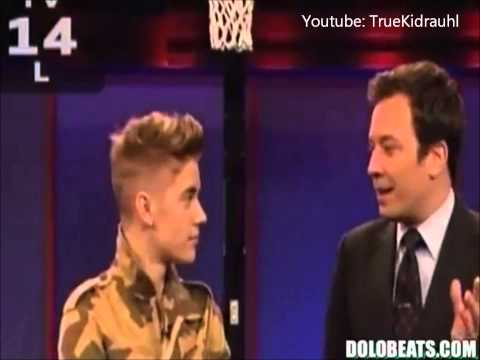 Justin Bieber on Jimmy Fallon FEBRUARY 2013