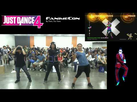 FanimeCon 2013 ( Just Dance 4 Freestyle ) Rock N Roll Skrillex