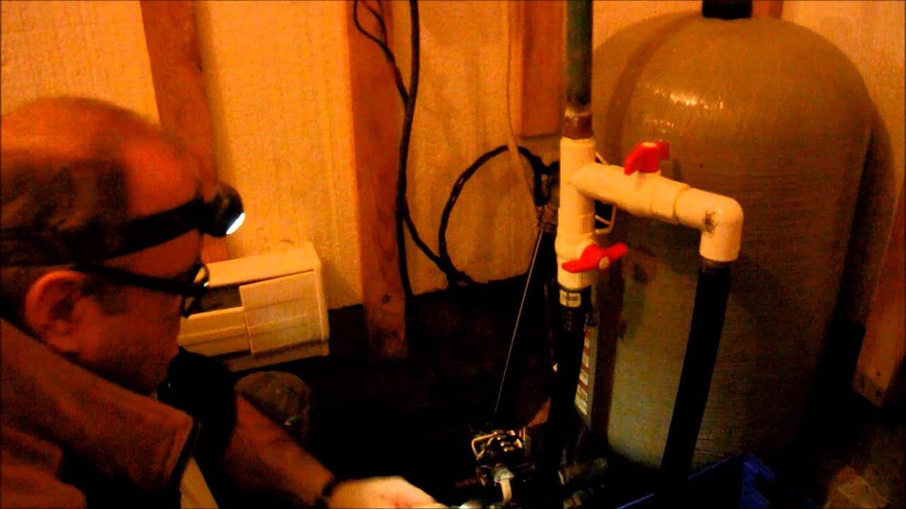 Remplacement d 39 un indicateur de pression et d 39 une valve for Augmenter pression d eau