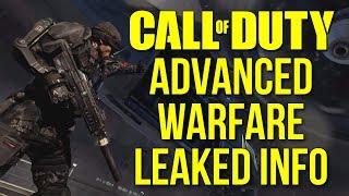 Call Of Duty: Advanced Warfare Leaked Gameplay Info