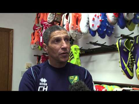Chris Hughton 1v1 Ahead of Aston Villa
