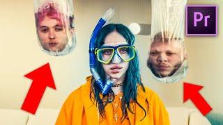 Billie Eilish - Bad Guy 'HEAD in WATERBAG Effect' (Adobe Tutorial)