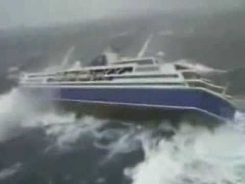 Cruise Ship During Storm Funny Outside Footage Youtube