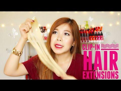 KẸP TÓC SIÊU NHANH VÀ ĐƠN GIẢN / IRRESISTIBLEME CLIP-IN HAIR EXTENSIONS (WITH CC ENGSUB)