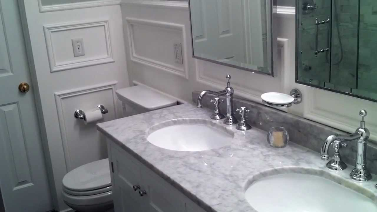Master Bathroom Remodel Ideas With Waterfall Shower Fixture Youtube