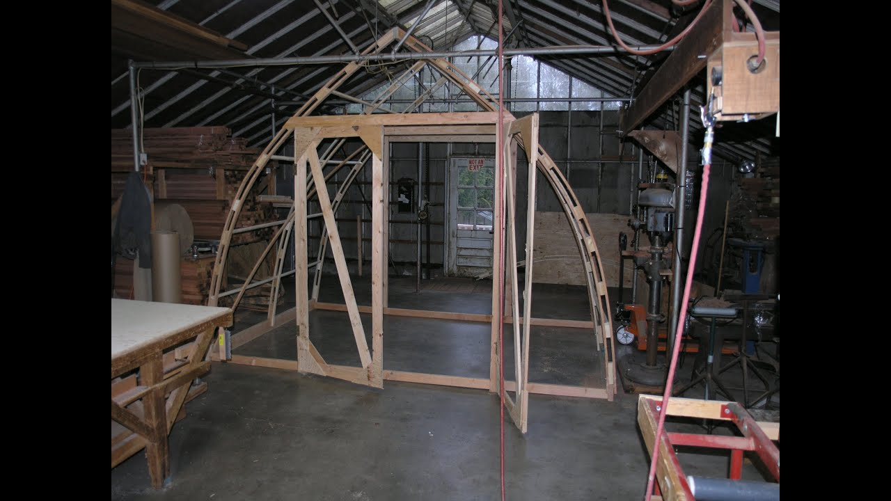 Build A 12 39 By 8 39 Gothic Arch Greenhouse For Less Than