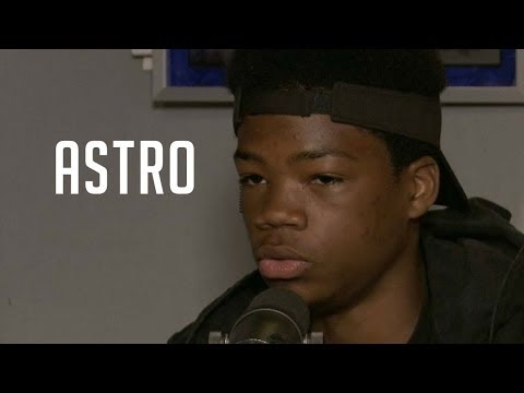 Astro lands his 1st big movie role and visits the HOT 97 Morning Show...smile man!