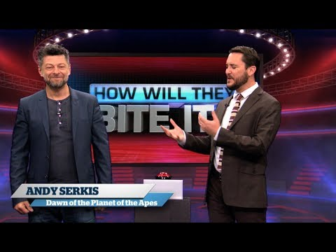 Andy Serkis and Wil Wheaton Play How Will They Bite It?