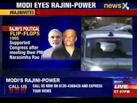 Narendra Modi's Rajnikanth power