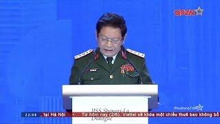 Bài phát biểu quan trọng của Đại tướng Ngô Xuân Lịch tại Đối thoại Shangri La 2018
