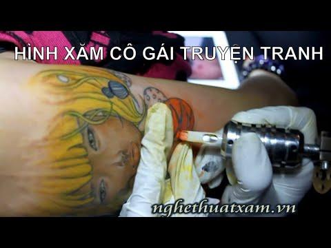 Xăm nghệ thuật Minh Đức Art 0906 628 638 www.nghethuatxam.vn