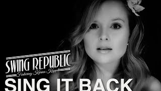 Moloko cover - Swing Republic - Sing It Back ( Official music Video ) - ( Freshly Squeezed )