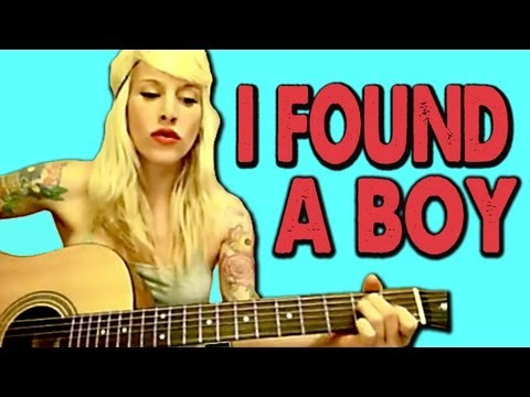 I FOUND A BOY (ADELE cover) by Sarah Blackwood