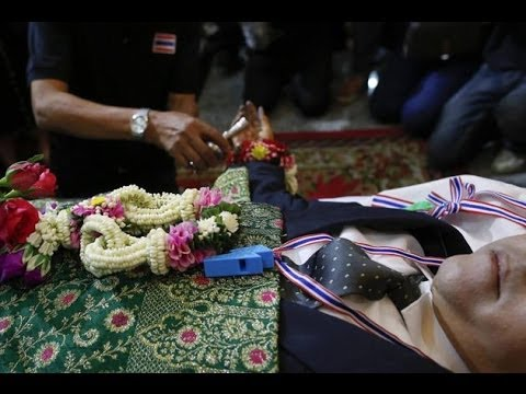 Thailand anti-government protest leader killed