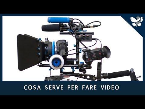 VIDEOMAKING #7 - Cosa serve per fare video - YouTube