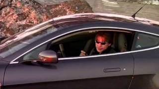 Aston Martin V8 Vantage тест на Солох-Ауле