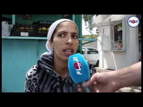 معاناة مواطنة مع السرطان في مستشفى ابن رشد