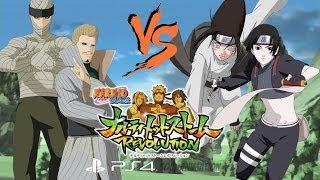 Naruto Ultimate Ninja Storm Revolution: 2nd Mizukage Vs