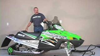 Overview Of Arctic Cat Crossfire 600 Snowmobile