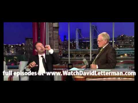 David Arquette in Late Show with David Letterman August 31, 2011